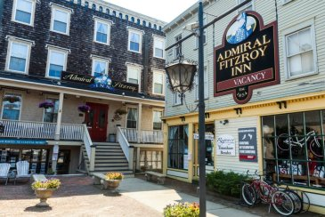 Admiral Fitzroy Inn, Newport RI