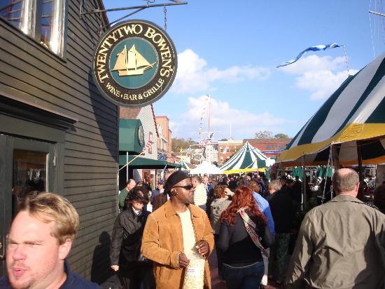 Newport Rhode Island Food Truck Festival